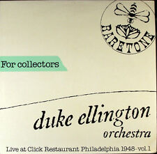 "Duke Ellington Orchestra Click Restaurant Vol 1-4 LP 12"" 33rpm 1948 record (nm)"