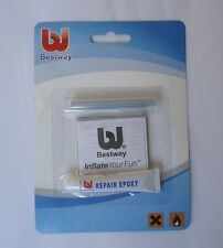 Bestway Vinyl Liner Pool Repair Patch Glue Kit for Inflatable Pool Toy Airbed