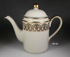 """FITZ & FLOYD LUXOR COFFEE POT WITH LID  6 1/4"""""""