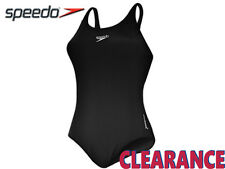 *CLEARANCE NEW* SPEEDO - ENDURANCE MEDALIST+ - BLACK - SIZE 36 (14) - CB1