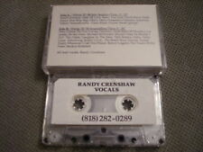 MEGA RARE PROMO Randy Crenshaw DEMO CASSETTE TAPE Vocals BEATLES George Harrison