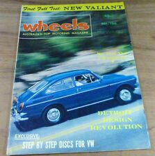 1966.WHEELS.VALIANT AP7.BMW 2000.VW 1600 TL Fastback.Chevrolet IMPALA.Pontiac