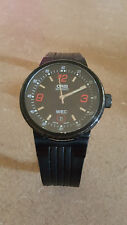 Oris Williams F1 Black Dial Silicone Strap Men's Watch w/extra strap