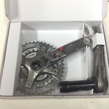 NEW - TRUVATIV SRAM XX CRANKSET 2x10 175mm 28-42 10 SPEED QFACTR 120 BCD
