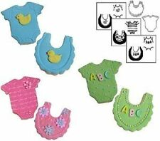 Mini Baby Cookie Cutter Texture Set #1051 - NEW