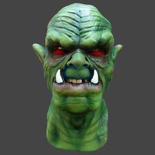 Green Orc Latex Overhead Balaclava style Mask