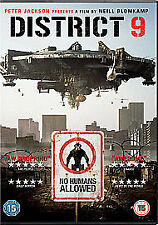 *** District 9 (DVD, 2009) - UK FREEPOST ***