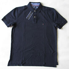 Tommy Hilfiger Navy Blue collared Golf Polo Casual Short Sleeve Shirt Mens XXL