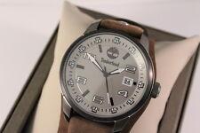 Timberland Original Uhr All Edelstahl Lederband 5ATM TBL.14337JSUB UVP:149€  OVP