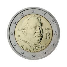 """Italy 2 Euro commemorative coin 2012 - """"Giovanni Pascoli"""" - UNC"""