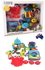 Aus Qty-Lamaze Ocean Friends Baby Toy Gift Pack/Baby Shower/Interactive/RRP $119