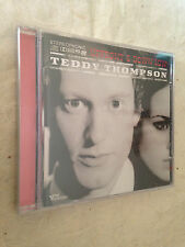 TEDDY THOMPSON CD UPFRONT & DOWN LOW 0602517329997 2007 POP