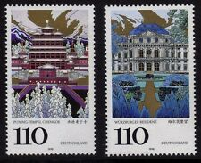 Germany 1998 UNESCO World Heritage Sites SG 2863-2864 MNH