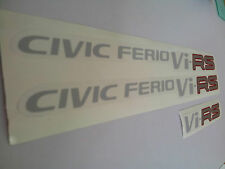 JDM Honda Civic EK Ferio Vi-RS Decal Sticker  - FREE WORLDWIDE SHIPPING