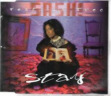 ★ MAXI CD SASH feat. LA TREC Stay 5-track jewel case    ★