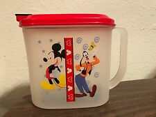 Tupperware Disney Mickey Mouse & Goofy - 1 quart pitcher