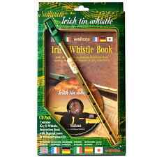 Roundhouse Irlandese Tin whistle Pacco CD-ISOLA Turf Crafts