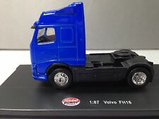 HO 1/87 Model Power # 20401 Volvo FH16 Single Axle Day Cab Tractor Blue