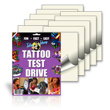 Temporary Tattoo Paper. See your tattoo on you before making it permanent! 10pk