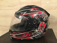 Bell Vortex Siege Motorcycle Helmet - Red - Medium - Retail OOS Rare