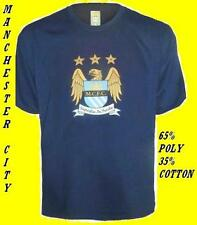 MANCHESTER CITY POLY/COTTON SHIRT,TAGS/PACKET.XXL BOYS