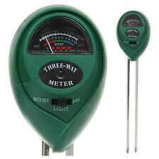 pH Metro/Medidor de pH/Luz y Humedad del Suelo para Plantas (XHST7029-B)