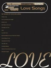 Essential Love Songs Sheet Music E-Z Play Today Book NEW 000100270