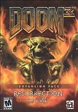 Video Game PC Doom 3 Resurrection of Evil Expansion Pack NEW SEALED BOX