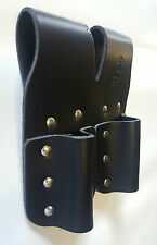 HEAVY DUTY LEATHER - DOUBLE TOOL HOLDER - TOP QUALITY SCAFFOLDING FROG - NEW