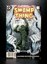 COMICS: DC: Saga of the Swamp Thing #51 (1980s) - RARE (batman/alan moore/flash)