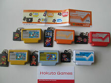 Collectible Famican Complete Set of 6 Secret Tins (Nintendo Famicom Style)
