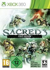 Xbox 360 juego Sacred 3 First Edition nuevo & OVP