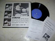 """10"""" BABY DODDS Talking And Drum Solos US FOLKWAYS ORIGINAL 50s/60s"""