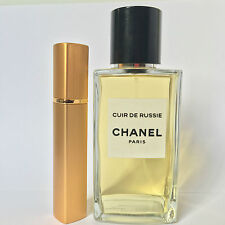 Les Exclusifs de Chanel Cuir de Russie 12ml spray Refillable Travel Atomizer