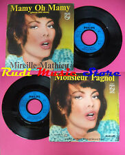 LP 45 7'' MIREILLE MATHIEU Mamy oh mamy Monsieur pagnol 1980 france no cd mc dvd
