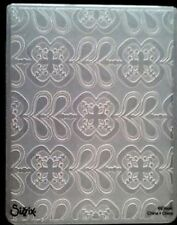 Sizzix Large 4.5x5.75in Embossing Folder LEAVES & FLOWERS fits Cuttlebug Wizard