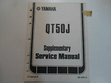 1982 Yamaha QT50J Supplementary Service Manual FACTORY OEM BOOK 82 DEALERSHIP