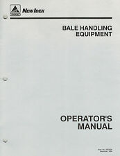 "NEW IDEA BALE SPIKE FORK EQUIPMENT  OPERATORS  MANUAL ""NEW"""