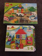 Duplo 10616  - Learn About My Day & 6136 My First Zoo
