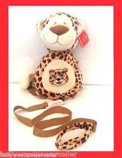 Kids Plush tiger tigger animal toddler SAFETY HARNESS LEASH BACKPACK tether