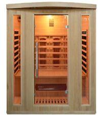 IR-Sauna 3P Infrarotkabine Vollspektrum Infrarotkabinen  CD Radio Montage