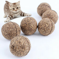 Hot Pet Cat Toys Natural Catnip Healthy Funny Treats Toy Ball For Cats Kitten BE