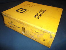 CAT CATERPILLAR 657 666 TRACTOR SCRAPER SERVICE SHOP REPAIR BOOK MANUAL