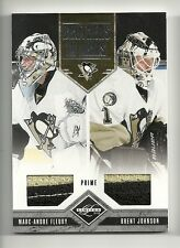 2011-12 LIMITED Brothers in Arms Prime Patch Marc Andre Fleury & Johnson #1/25
