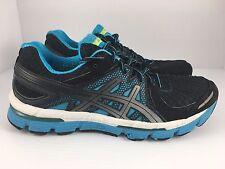 ASICS GEL Excel 33 Women's Running Shoes Size 8.5 Black/Lightning/Blue