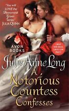 A Notorious Countess Confesses: Pennyroyal Green Series, Long, Julie Anne, Good