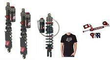 ELKA STAGE 5 FRONT + REAR SHOCKS YAMAHA YFZ450R STREAMLINE STEERING STABILIZER