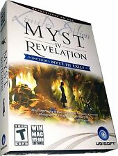 Myst IV Revelation Limited Edition (incl. Myst III Exile) for PC & Mac NEW MISB!