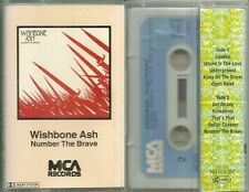 RARE / K7 AUDIO - WISHBONE ASH : NUMBER THE BRAVE / TAPE