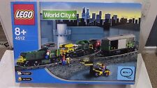 LEGO World City Trains Cargo Train (4512) Set BOX ONLY - No Pieces - RARE